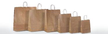 Kraft paper-bags